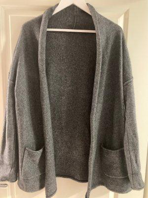 Armedangels Cardigan tricotés gris