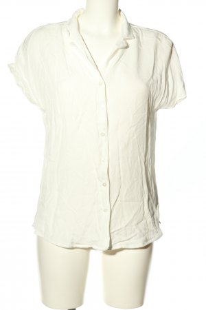 armed angles Blouse à manches courtes blanc style d'affaires