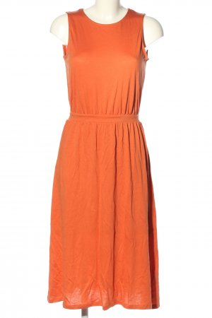 armed angles Midi-jurk licht Oranje casual uitstraling