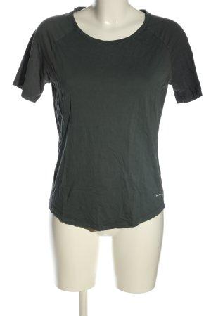 armed angles T-shirt gris clair style décontracté