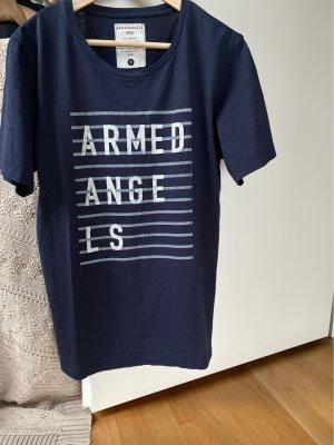 armedangels T-shirt blu scuro