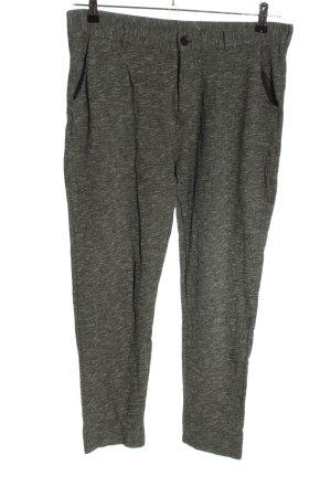 armedangels Pantalone a 7/8 grigio chiaro puntinato stile casual