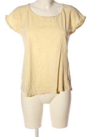 armedangels Basic-Shirt blassgelb Casual-Look