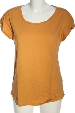 armedangels Basic-Shirt hellorange Casual-Look