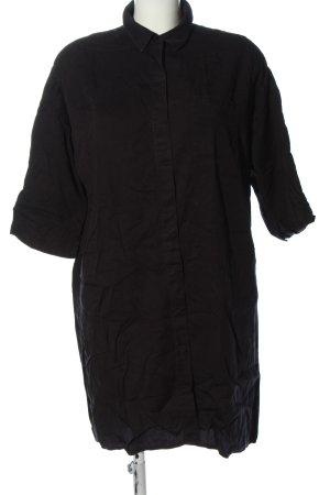 Armedangels Blusenkleid schwarz Elegant