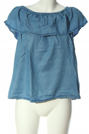armedangels Carmen-Bluse blau Casual-Look