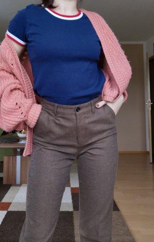 armedangels Stoffen broek grijs-bruin-lichtbruin