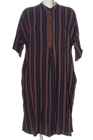 armedangels Abito blusa camicia motivo a righe stile casual