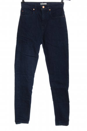 Armedangels Hoge taille jeans blauw casual uitstraling