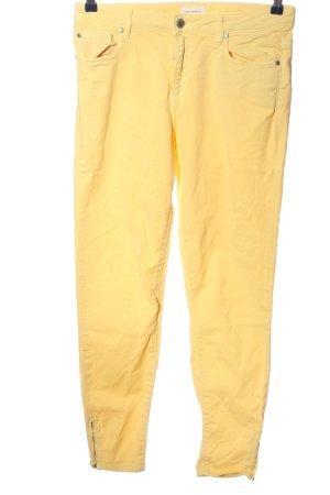 armedangels Jeans a vita alta giallo pallido stile casual