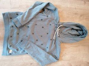 armedangels Capuchon sweater lichtblauw