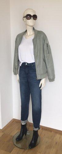 armedangels Boyfriend Jeans dark blue cotton