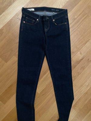 armedangels Jeans a vita alta blu scuro