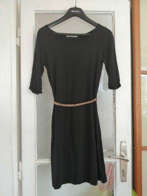 Armedangels Kleid, schwarz mit Gürtel