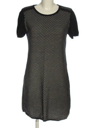 Armedangels Shortsleeve Dress black-natural white allover print casual look
