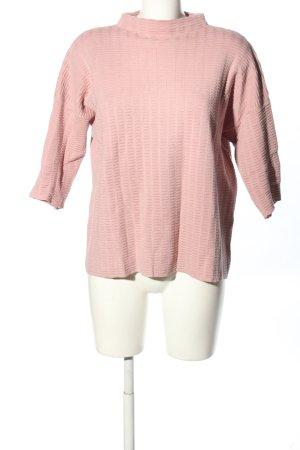 armedangels Short Sleeve Sweater pink casual look