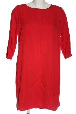 Armedangels Robe à manches longues rouge élégant
