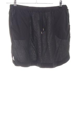 armedangels Mini rok zwart casual uitstraling