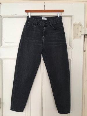 armedangels Jeans taille haute multicolore coton