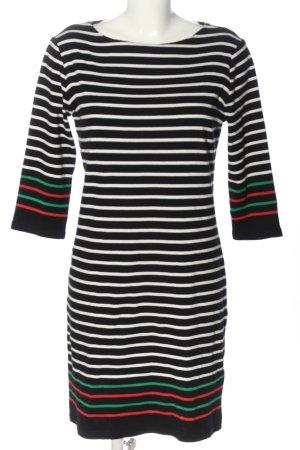 armedangels Sweaterjurk zwart-wit gestreept patroon casual uitstraling