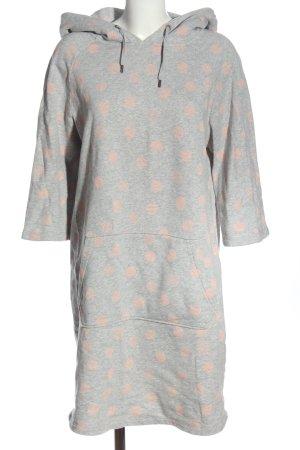 armedangels Swetrowa sukienka jasnoszary-różowy Melanżowy W stylu casual