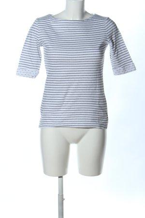armedangels Stripe Shirt white-black spot pattern casual look
