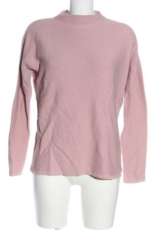 Armedangels Sweter z golfem różowy Melanżowy W stylu casual