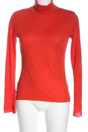 Armedangels Turtleneck Sweater red casual look