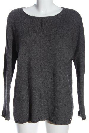 armedangels Crewneck Sweater light grey flecked casual look