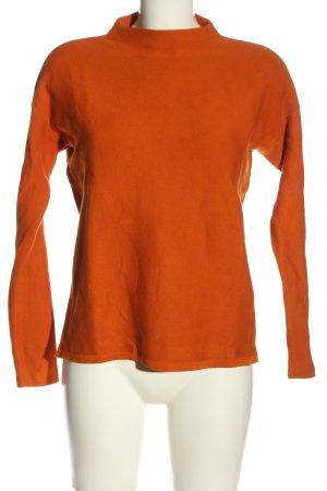 Armedangels Sweter z okrągłym dekoltem jasny pomarańczowy W stylu casual