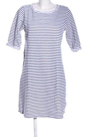 armedangels Shirt Dress blue-white striped pattern casual look