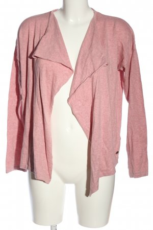 armedangels Giacca in maglia rosa puntinato stile casual