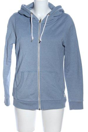 armedangels Sweat Jacket blue flecked casual look