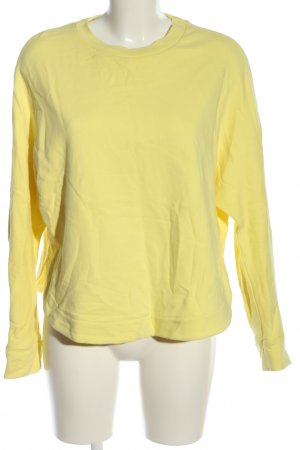 armedangels Felpa giallo pallido stile casual