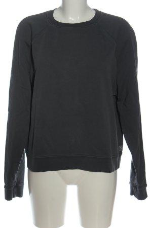Armedangels Bluza dresowa czarny Melanżowy W stylu casual
