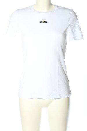 armedangels T-shirt bianco stile casual