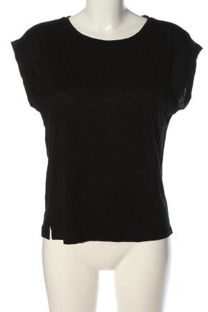 armedangels T-shirt zwart casual uitstraling