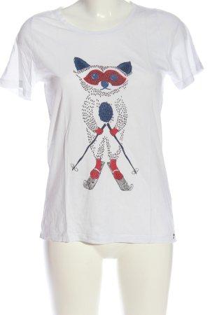 armedangels T-shirt imprimé avec thème style décontracté