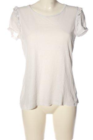 armedangels T-Shirt weiß Casual-Look