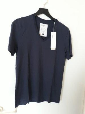 Armedangels T-Shirt  Gr.S dkl blau Neu