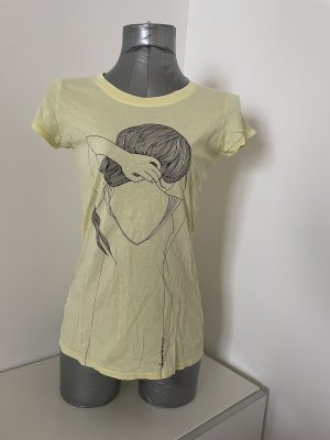 armedangels T-Shirt pale yellow