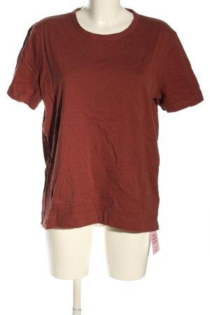 armedangels T-Shirt red casual look