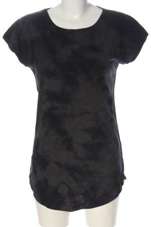 armedangels Boatneck Shirt light grey-black allover print casual look