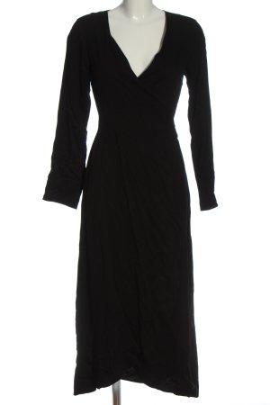 armedangels Wickelkleid schwarz Elegant