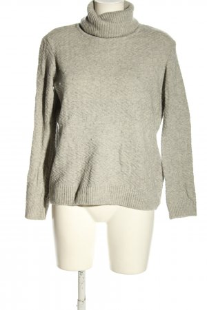 Armedangels Wool Sweater light grey flecked casual look