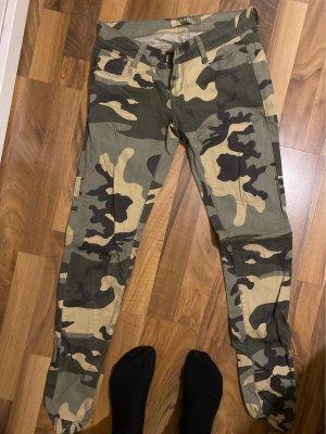 Goodies Spodnie ze stretchu Wielokolorowy