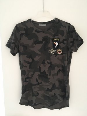 Armee Look T-Shirt Military Camouflage