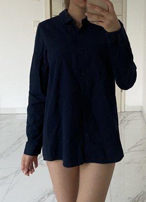 armedangels Camicia a maniche lunghe blu scuro