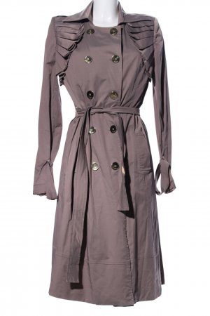 Armine Trenchcoat bruin zakelijke stijl