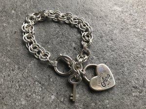 Aeropostale Bracelet silver-colored